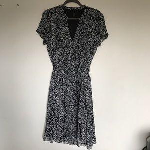 JBS Black and White Printed Dress Size 16